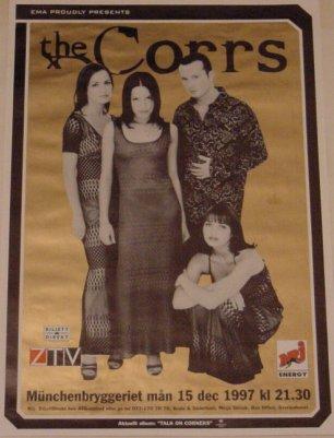 CD Japon, affiche Corrs97